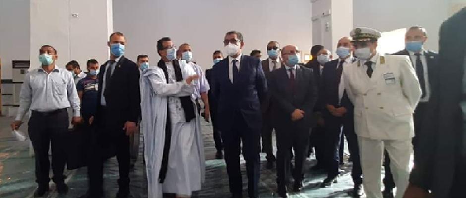 الوزير الأول: ان شاء الله سننتصر على الوباء ونصلي في هذا المسجد القطب في تندوف