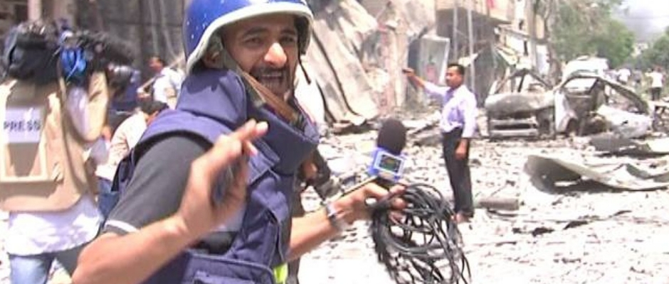 الصحفي الفلسطيني وسام أبو زيد في حديث له مع الحراك الاخباري :