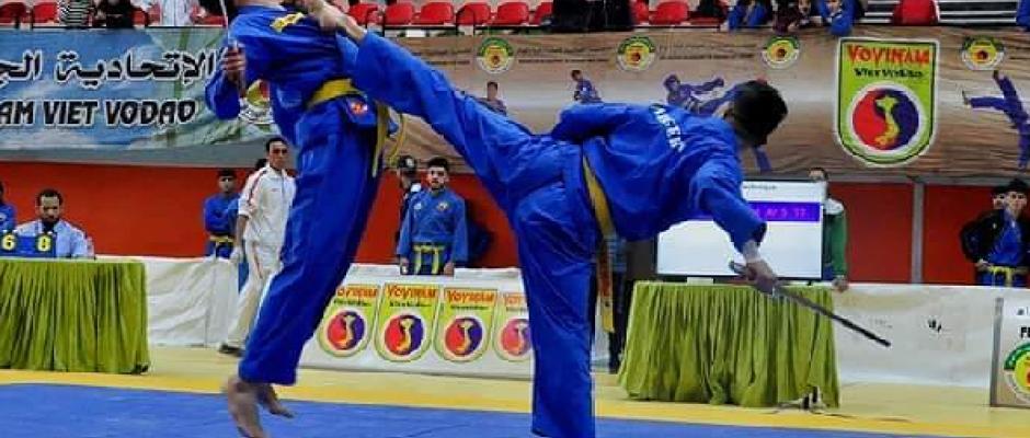 البطولة الوطنية لرياضة الفوفينام : الجمعية الرياضية للأمن الوطني تحتل الصدارة